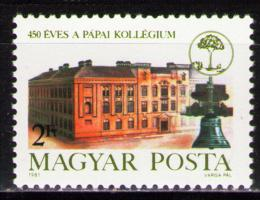 Poštovní známka Maïarsko 1981 Kalvínistické kolegium Mi# 3508