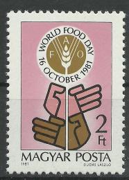 Poštovní známka Maïarsko 1981 Svìtový den potravin Mi# 3509
