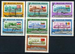 Poštovní známky Maïarsko 1981 Lodì Mi# 3514-20