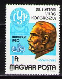 Poštovní známka Maïarsko 1980 Endre Högyes, lékaø Mi# 3442