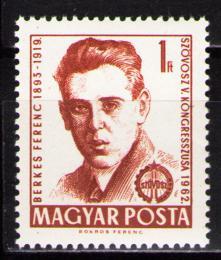Poštovní známka Maïarsko 1962 Ferenc Berkes, politik Mi# 1817