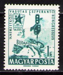 Poštovní známka Maïarsko 1962 Kongres esperanta Mi# 1819