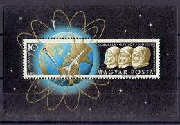 Poštovní známka Maïarsko 1962 První let do vesmíru Mi# Block 33