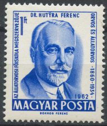 Poštovní známka Maïarsko 1962 Ferenc Hutyra Mi# 1866