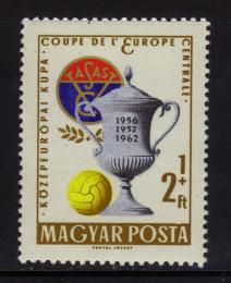 Poštovní známka Maïarsko 1962 Fotbal Mi# 1880