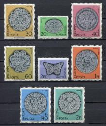 Poštovní známky Maïarsko 1964 Umìní Mi# 2000-07