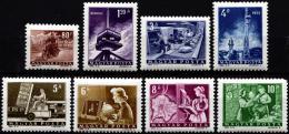 Poštovní známky Maïarsko 1964 Pošta a telekomunikace Mi# 2009-16