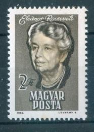 Poštovní známka Maïarsko 1964 Eleanor Roosevelt Mi# 2017