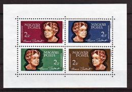 Poštovní známky Maïarsko 1964 Eleanor Roosevelt Mi# Block 41