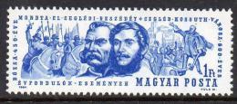 Poštovní známka Maïarsko 1964 Povstání z Cegléd, 600. výroèí Mi# 2024