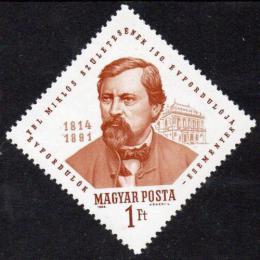 Poštovní známka Maïarsko 1964 Miklós Ybl, architekt Mi# 2029