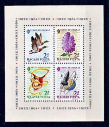 Poštovní známky Maïarsko 1964 Výstava IMEX Mi# Block 42