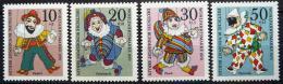 Poštovní známky Západní Berlín 1970 Loutky Mi# 373-76