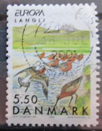 Poštovní známka Dánsko 1999 Rezervace Langli, Evropa CEPT Mi# 1212
