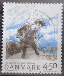 Poštovní známka Dánsko 2004 Nordické mýty Mi# 1366
