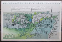 Poštovní známky Nìmecko 1998 NP Saské Švýcarsko Mi# Block 44