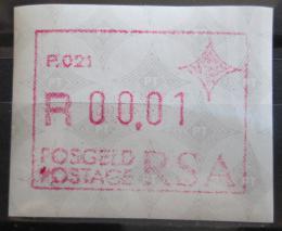 Poštovní známka JAR 1987 Známka z automatu, ATM Mi# 3