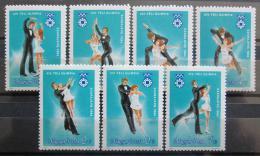 Poštovní známky Maïarsko 1983 ZOH Sarajevo, krasobruslení Mi# 3652-58