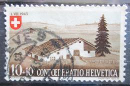 Poštovní známka Švýcarsko 1945 Farma v Juøe Mi# 461
