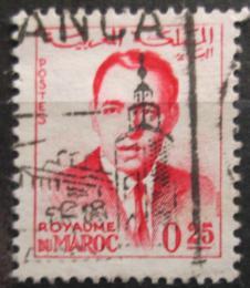 Poštovní známka Maroko 1965 Král Hassan II. Mi# 495