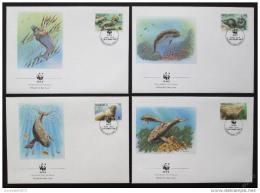 FDC Vanuatu 1988 Dugong, WWF 0062 Mi# 782-85