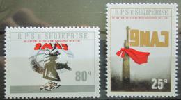 Poštovní známky Albánie 1985 Vítìzství RARITA Mi# 2264-65 Kat 220€