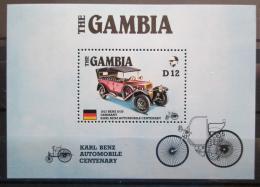 Poštovní známka Gambie 1986 Steiger Mi# Block 24 Kat 11€