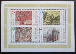 Poštovní známky Bulharsko 1986 Umìní Mi# Block 169