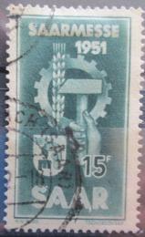Poštovní známka Sársko 1951 Sárský veletrh Mi# 306 Kat 9€