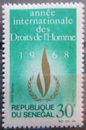 Poštovní známka Senegal 1967 Lidská práva Mi# 370
