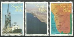 Poštovní známky Namíbie 1994 Walvis Bay Mi# 768-70