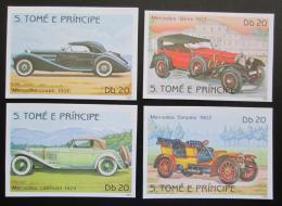 Poštovní známky Svatý Tomáš 1983 Mercedes Mi# 856-59 B Kat 23.75€