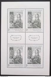 Poštovní známky Èeskoslovensko 1966 Umìní, Hollar Mi# 1668 Bogen Po# 1574 PL