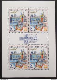 Poštovní známka Èeskoslovensko 1967 Výstava PRAGA Mi# 1744 Bogen