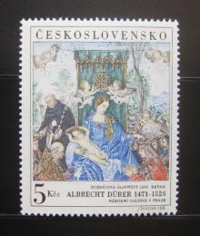 Poštovní známka Èeskoslovensko 1968 Umìní, Dürer Mi# 1805 Po# 1695