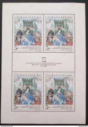 Poštovní známky Èeskoslovensko 1968 Umìní, Dürer Mi# 1805 Bogen Po# 1695 PL