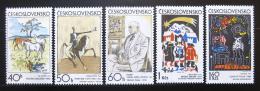 Poštovní známky Èeskoslovensko 1972 Grafika Mi# 2060-64 Po# 1948-52