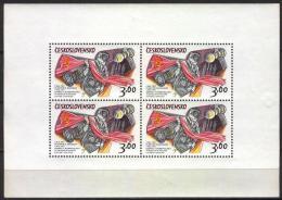 Poštovní známky Èeskoslovensko 1973 Prùzkum vesmíru Mi# 2136 II Po# 2024 PL