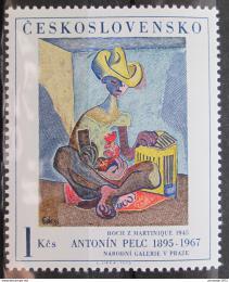 Poštovní známka Èeskoslovensko 1973 Umìní, Penc Mi# 2172b