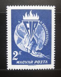 Poštovní známka Maïarsko 1965 Kongres FIR Mi# 2183