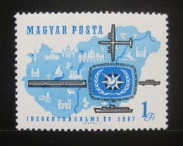 Poštovní známka Maïarsko 1967 Rok turistiky Mi# 2321
