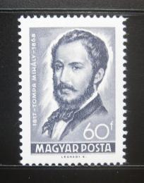 Poštovní známka Maïarsko 1968 Mihály Tompa, básník Mi# 2432