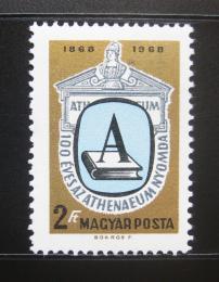 Poštovní známka Maïarsko 1969 Aténský tisk Mi# 2475