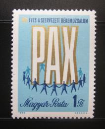 Poštovní známka Maïarsko 1969 Mírové hnutí Mi# 2518