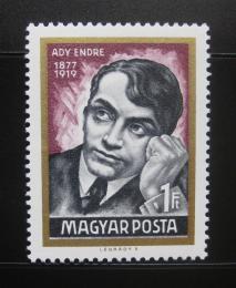 Poštovní známka Maïarsko 1969 Endre Ady, básník Mi# 2474