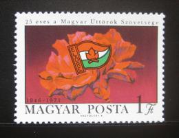 Poštovní známka Maïarsko 1971 Pionýrská organizace Mi# 2672