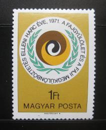 Poštovní známka Maïarsko 1971 Proti rasové diskriminaci Mi# 2719