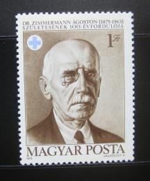 Poštovní známka Maïarsko 1975 Dr. Agoston Zimmermann, veterináø Mi# 3057