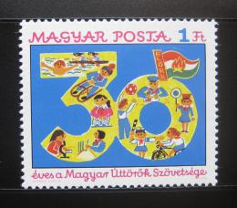 Poštovní známka Maïarsko 1976 Pionýrská organizace Mi# 3123