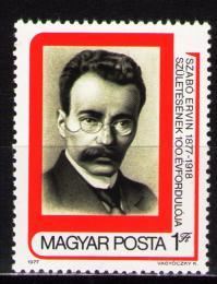 Poštovní známka Maïarsko 1977 Ervin Szabó Mi# 3240